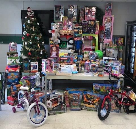 toys for tots, support, return polymers